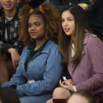 Photo High School Musical: The Musical: The Series - Episode 101: The Auditions - Dara Renee (Kourtney) & Olivia Rodrigo (Nini)