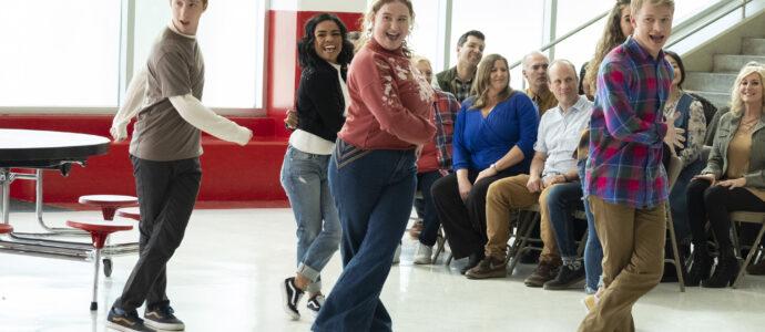 Photo High School Musical: The Musical: The Series – Episode 106: What Team? - Larry Saperstein (Big Red), Julia Lester (Ashlyn) & Joe Serafini (Seb)
