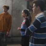 Photo High School Musical: The Musical: The Series – Episode 106: What Team? - Joshua Bassett (Ricky), Olivia Rodrigo (Nini) & Matt Cornett (EJ)