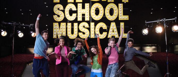 Photo High School Musical: The Musical: The Series – Episode 106: What Team? - Matt Cornett, Sofia Wylie, Joshua Bassett, Olivia Rodrigo & Joe Serafini