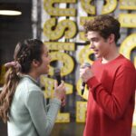 Photo High School Musical: The Musical: The Series – Episode 107: Thanksgiving - Olivia Rodrigo (Nini) & Joshua Bassett (Ricky)