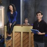 Photo High School Musical: The Musical: The Series – Episode 107: Thanksgiving - Sofia Wylie (Gina), Frankie A. Rodriguez (Carlos) & Joe Serafini (Seb)