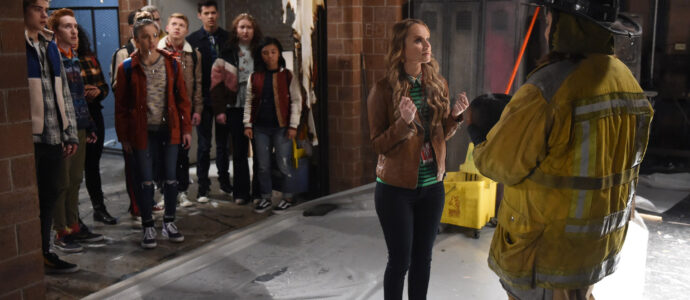 High School Musical: The Musical: The Series – Episode 108: The Tech Rehearsal - Joshua Bassett, Larry Saperstein, Olivia Rodrigo, Joe Serafini, Matt Cornett, Julia Lester & Kate Reinders