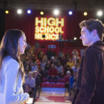Photo High School Musical: The Musical: The Series – Episode 109: Opening Night - Olivia Rodrigo (Nini) & Joshua Bassett (Ricky)