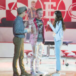 Photo High School Musical: The Musical: The Series – Episode 109: Opening Night - Joe Serafini (Seb) & Olivia Rodrigo (Nini)