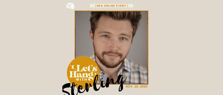 Passez votre samedi 28 novembre en compagnie de Sterling Knight (Sonny, Starstruck)