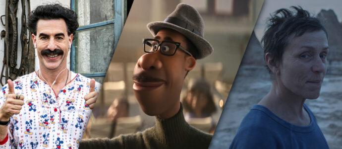 Golden Globes 2021 : Borat Subsequent Moviefilm, Soul et Nomadland parmi les gagnants
