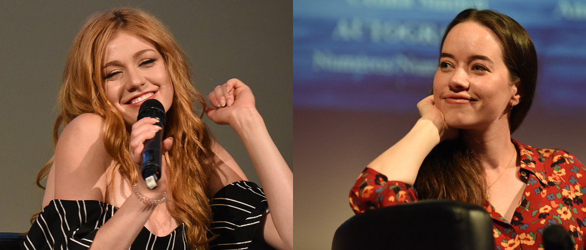 Anna Popplewell and Katherine McNamara, first guests of the Dream It At Home 10