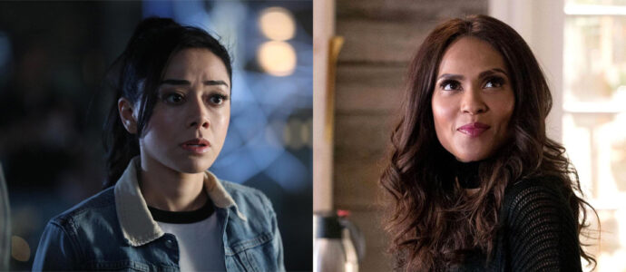 Lucifer: Aimee Garcia and Lesley-Ann Brandt at the Deepest Desires convention