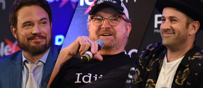 Supernatural : Jim Beaver, David Haydn-Jones et Adam Fergus à la DarkLight Con Online 2