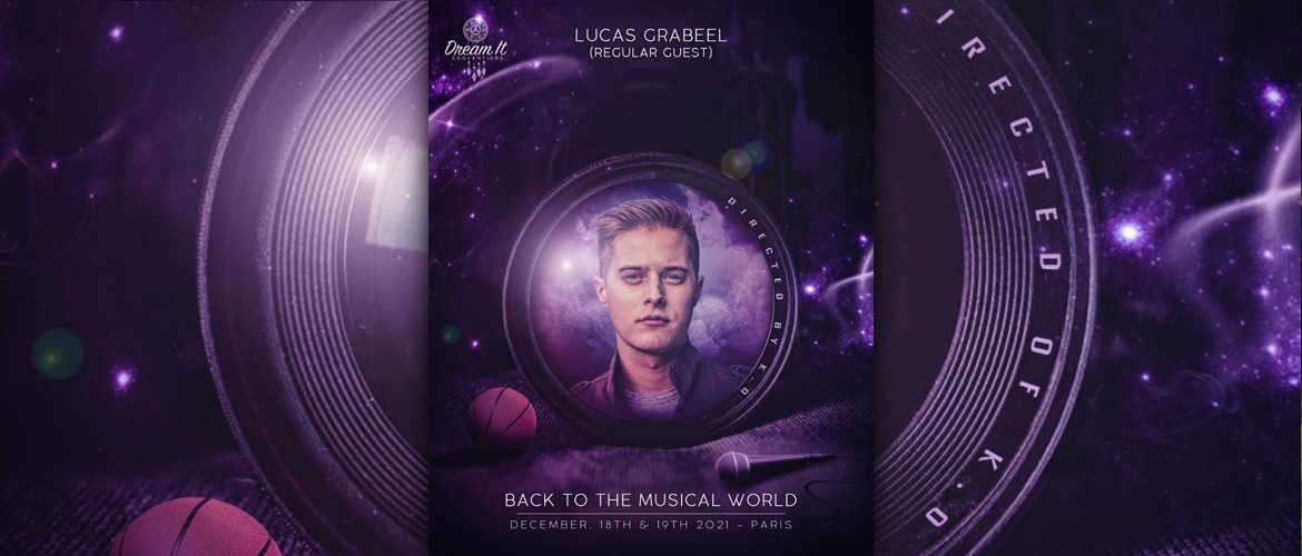 High School Musical: Lucas Grabeel in France at the end of 2021 for a convention