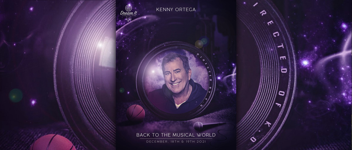Kenny Ortega in Paris for the Back to the Musical World convention