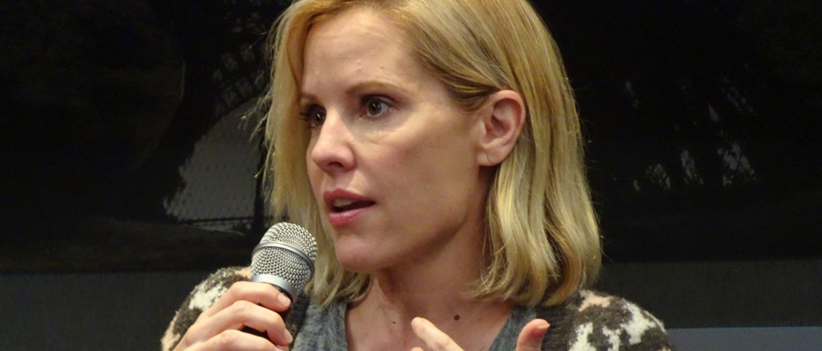 Emma Caulfield, guest of the 'Big Bad Conline 2' event