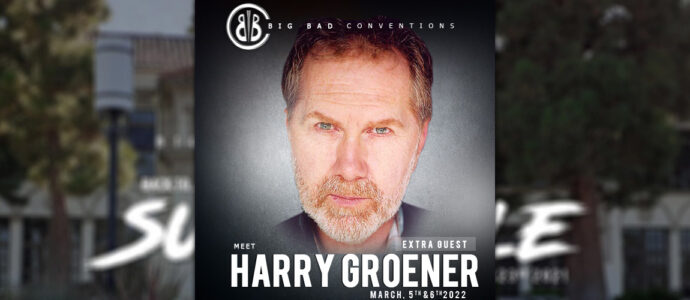 Harry Groener, new guest at the Back to Sunnydale convention