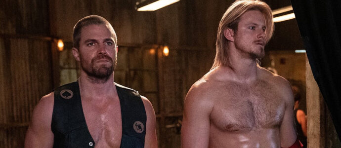 Stephen Amell and Alexander Ludwig together in the new series Heels