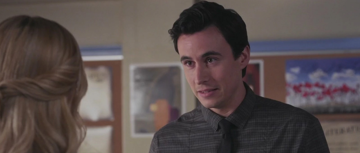 Pretty Little Liars: Huw Collins, new guest of the virtual event Let's Hang with -A²