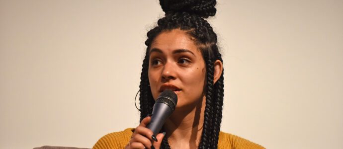 Chicago Fire : Miranda Rae Mayo, guest at 'Empire's Virtual Hangout 7' convention