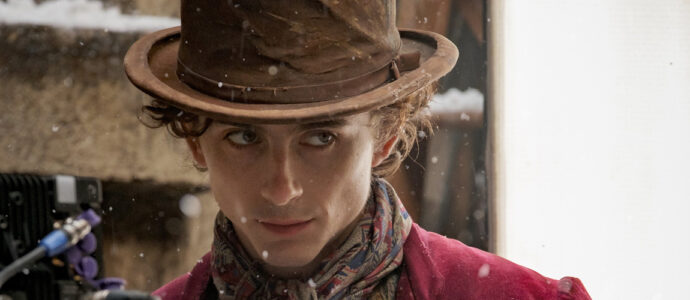 First pictures of Timothée Chalamet in his new role as Willy Wonka